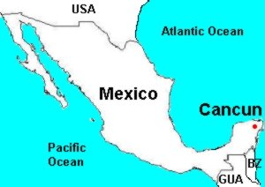 Cancun Guide Popular Historical Places Climate Maps - Mexico climate map